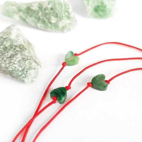 WishYouLuck zielony jadeit...