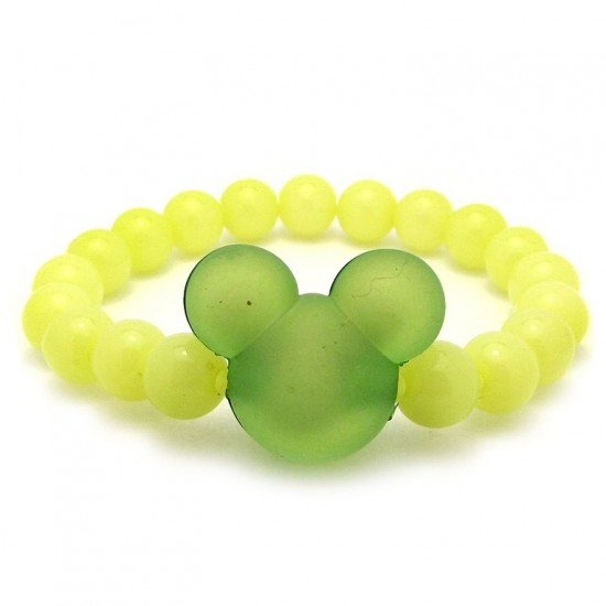Zielona bransoletka dla...