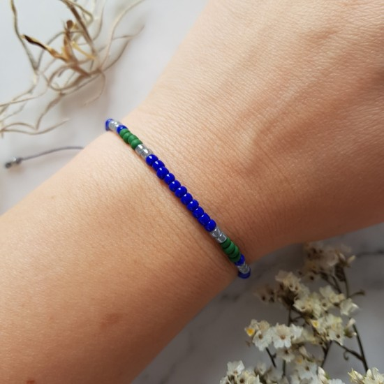 Kolorowa bransoletka na sznurku Tiny Nampula