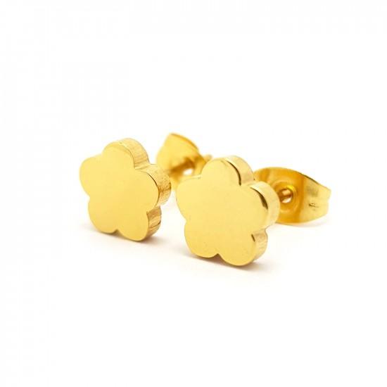 Kolczyki sztyfty złote...