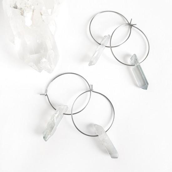 Kolczyki sztyfty srebrne pieski stal chirurgiczna